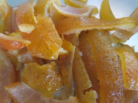 Orangenstäbchen