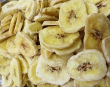 Bananenchips - geröstet
