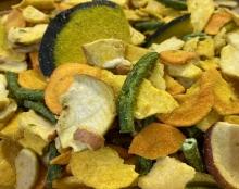 Gemüse-Früchte-Chips